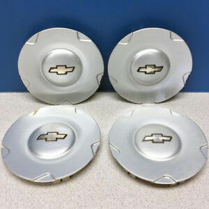2002 2003 Chevrolet Trailblazer 5141 16 Wheel Center Caps 9593373 Set 4
