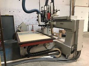 Holzher Cosmec Cnc Router 4x8 Great Condition
