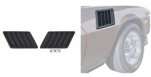 Oer K7879 1978 1979 Chevy Camaro Z28 Fender Air Vent Extractor Louver Set