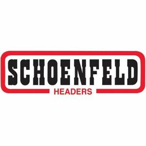 Schoenfeld Headers 2346 Truck Headers 2in X 3 1 2in Fender Well For Bbc
