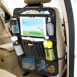 12 Pockets Car Seat Back Organizer Holder Phone Ipad Travel Storage Bag Hanger
