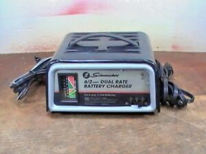 Pre Owned Tested Schumacher Se 82 6 6 A Dual Rate 6 12 Volt Battery Charger