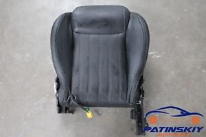 2012 Fiat 500 Lounge Front Left Driver Seat Lower Bottom Cushion Pad Track 12