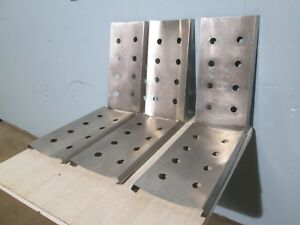 Lot Of 6 H d Stainless Steel Rack deck For 12 Tubs Ice cream Dipping Cabinet