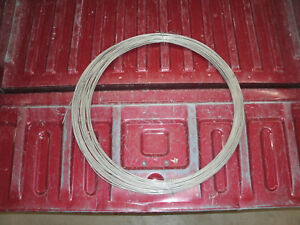 Bare Stainless Steel Ground Guide Wire 150 Dia Gauge Around 220
