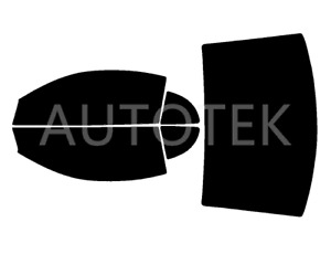 Precut All Sides Window Film Any Tint Shade For Ford Mustang Coupe 1999 2004