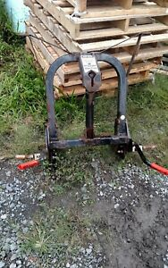 Curtis Sno Pro 3000 Hitch And Run Snow Plow Frame Mount Plow Side