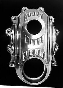 Chrysler 331 354 392 Hemi New Timing Cover Cast With Cam Spud Polished