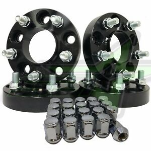 4 Jeep Hub Centric Wheel Spacers 1 25 1 2x20 For Jeep Cherokee Liberty Wrangler