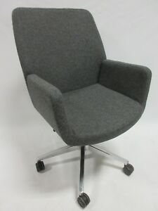 Coalesse by Steelcase Bindu Conference Executive Chair In Grey