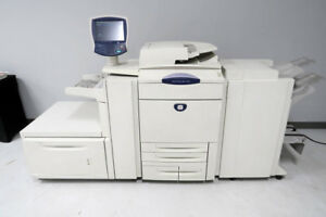 Xerox Dc250 Docucolor Digital Color Printer Fiery Rip Low 1 5m Count