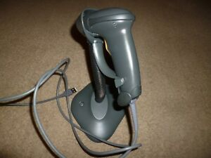 Zebra Ls2208 Digital Handheld Barcode Scanner With Stand Usb Cable