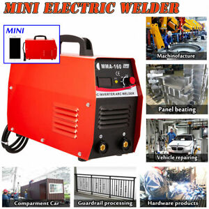 Mini Mma Electric Welder 110v 20 160a Inverter Arc Igbt Welding Machine Advanced