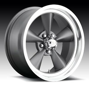 Cpp Us Mags U102 Standard Wheels 15x7 15x8 Fits Ford Mustang Falcon Galaxie