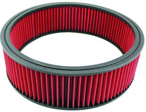 14 X 4 14 X 4 Washable Reusable High Flow Air Filter Element Oil Type Red Sbc