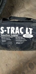 Tire Snow Cables Chains Complete Set For 2 Tires Never Used Original Bag
