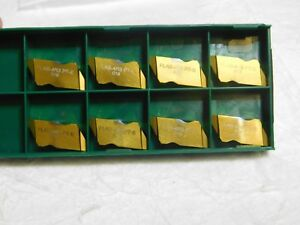 Tool flo Carbide Stub Threading Inserts Flas 4r3 Pt e Grade gp50e 554203ptr Qty8