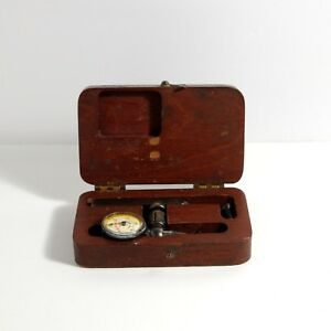 Starrett Last Word Dial Test Indicator No 711 With Wooden Case