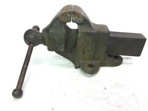 Reed Vise 103 With 3 Jaw Good Working Vise Tight Machinist Mechanic Gift