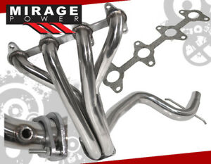 98 02 Cavalier 2 2l 2 Piece Z24 Long Tube Stainless Exhaust Replacement Header