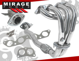 1993 1997 Toyota Corolla 1 6l Stainless Steel Exhaust Header Dx Base 94 95 96