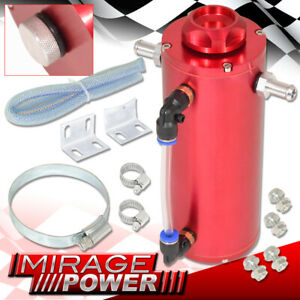 For Bmw Benz Euro 350ml Red Over Flow Catch Tank Radiator Coolant Reservoir