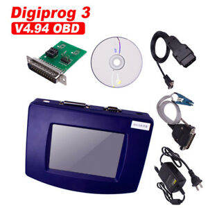 Digiprog 3 V4 94 Digiprog Iii With Obd2 St01 St04 Cable Odometer Correction Tool
