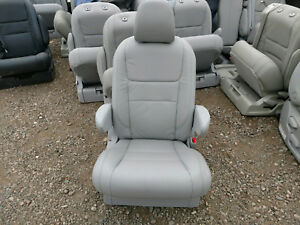 2018 New Takeouts Gray Leather Bucket Seat Van Bus Truck Rv