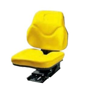 John Deere Yellow Leatherette Seat Cover 5000 Series 5010 5015 5g