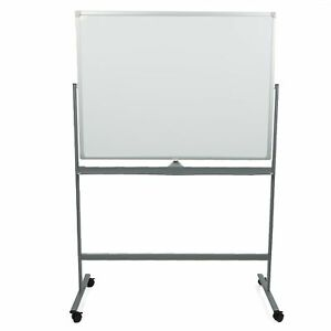 Mind Reader Rollboard wht Portable Magnetic Dry Erase Double Sided Easel White