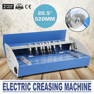 20 5 Electric Creaser Scorer Paper Creasing Machine 3in1 Cards Printing Newest