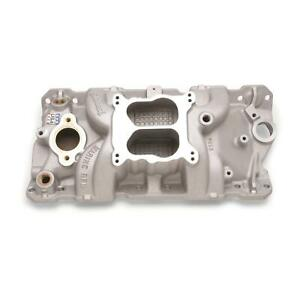 Edelbrock 2504 Performer Rpm Marine Intake Manifold small Block Chevy