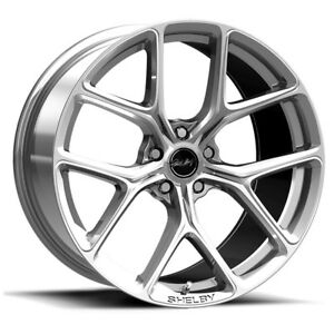 Carroll Shelby Wheel Company Cs3 215455 Cp Mustang Cs 3 Wheel 20 X11 Chrome Pow
