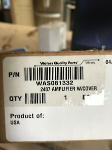 Waters Was081332 Amplifier W cover For 2487 Detectors