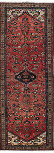 Hand Knotted Persian Carpet 3 1 X 9 11 Persian Vintage Traditional Wool Rug