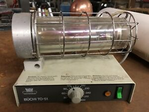 Buchi Model To 51 Glass Titrator Oven Used