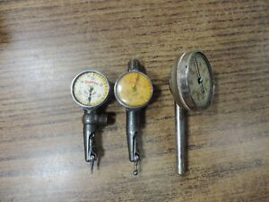 2 Starret Last Word And 196 Dial Indicator