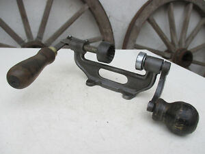 VINTAGE IRON SHOTGUN CARTRIDGE RELOADER LOADING CHARGER PRESS TOOL FOR TABLE FIX