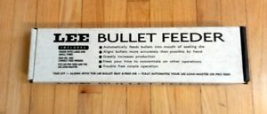 * LEE PRO 1000 & LOAD MASTER BULLET FEEDER KIT * works with 40 through .44 cal.