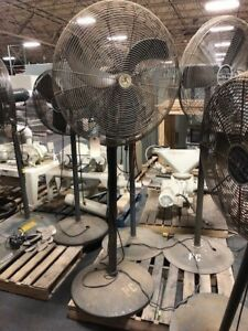 Patton Oscillating Pedestal Fan 32 Industrial Shop Fan