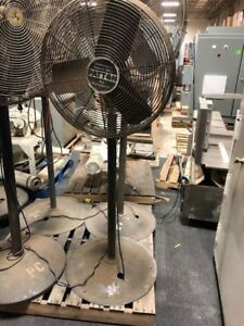 Patton Oscillating Pedestal Fan 24 Industrial Shop Fan