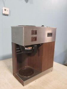bunn Vpr Heavy Duty Commercial nsf pour over 120v 1ph Ss Coffee Brewer