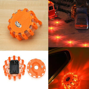 15 Led Car Emergency Strobe Flashing Warning Light Roof Beacon Road Safety Lamp