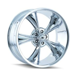 Cpp Ridler 695 Wheels 17x8 18x9 5 Fits Chevy Impala Chevelle Ss