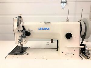 Juki Dnu 241h Walking Foot Big Bobbin rev 110v Motor Industrial Sewing Machine