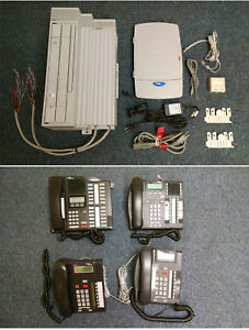 Programmable Small Business 4 phone System W Callpilot Free Shipping