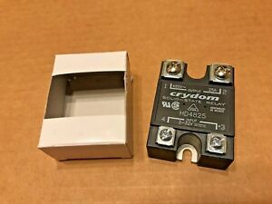 Crydom Hd4825 Solid State Relay New In Box 4 32 Vdc 25 Amps 48 530 Vac