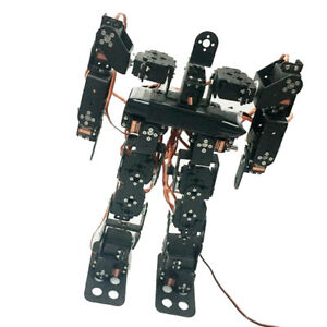 17dof Biped Robtic Two legged Human Dance Robot Aluminum Frame Kits