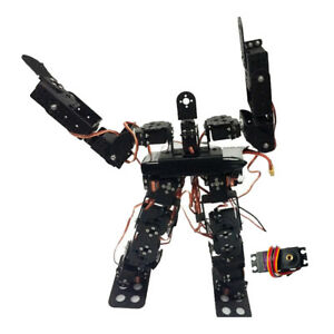 17dof Biped Robtic Two legged Human Dance Robot Aluminum Frame Kit