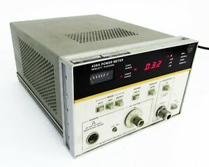 Hp agilent 436a Power Meter 100 Khz To 110 Ghz W Opt 009 022